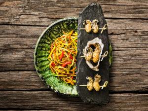 recette-huitres-snackee-sesame-wok